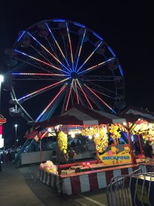 food truck festival foodie fest with carnival rides and games