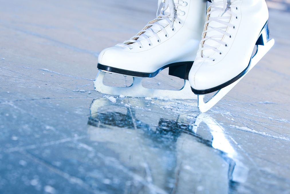 Date Skate movie nights at the Ice rink at the Cosmopolitan
