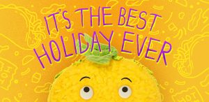 national taco day-animated taco saying it's the best holiday ever