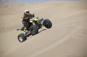 Groupon gift discount on ATV riding in the sand dunes