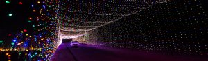 Glittering Lights for the holidays at Las Vegas Motor Speedway