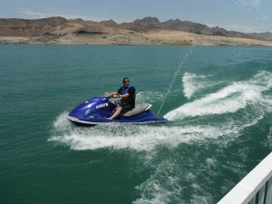 Man on Wave Runner at Lake Mead