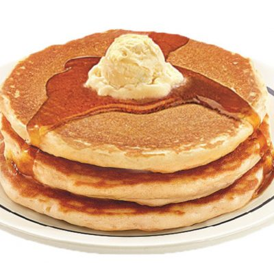 Denny's: All-you-can-eat pancakes for $4