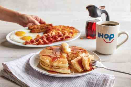 IHOP pancakes for free for a limited time