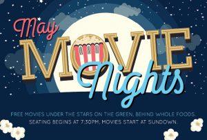 GVR movie nights behind Whole Foods