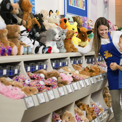 Build a Bear 'Pay your Age' Day  Deal July 12th