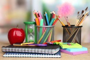 school supplies at Target teacher prep event