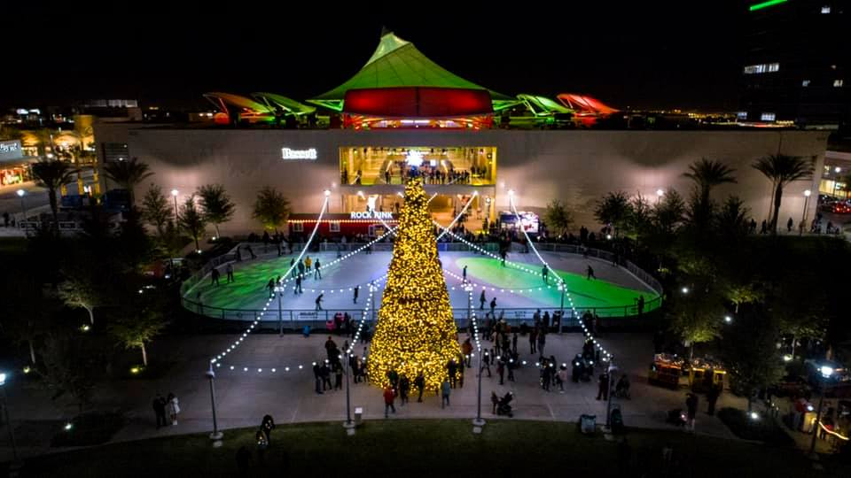 Downtown Summerlin Holiday Tree and Rock Rink Skating Rink event