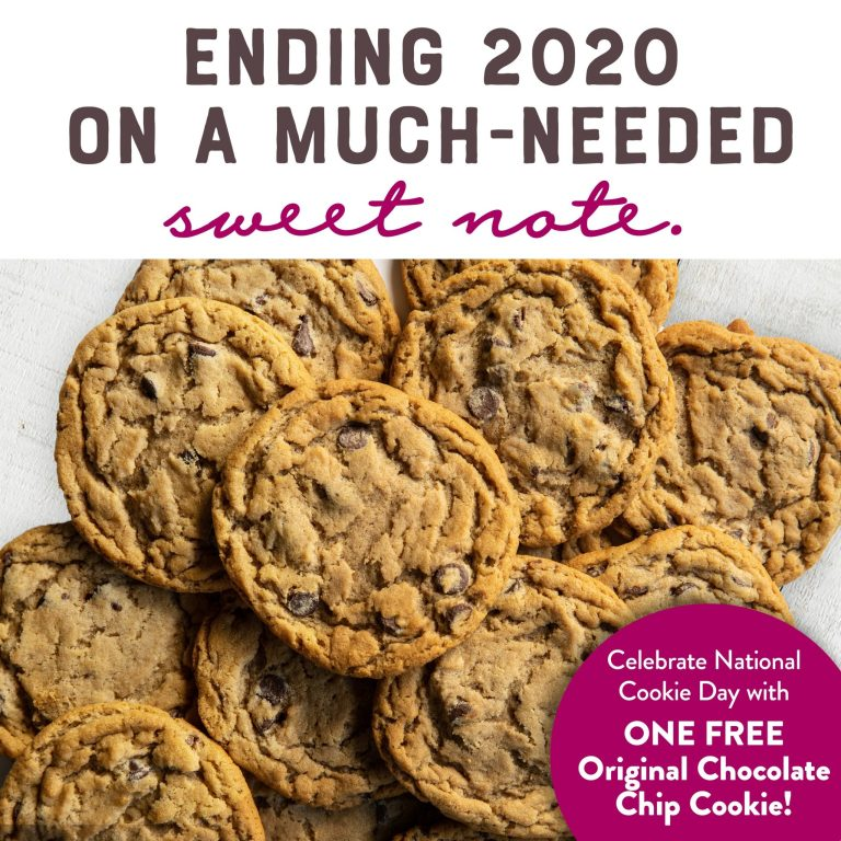 national cookie day deals at Great American Cookie
