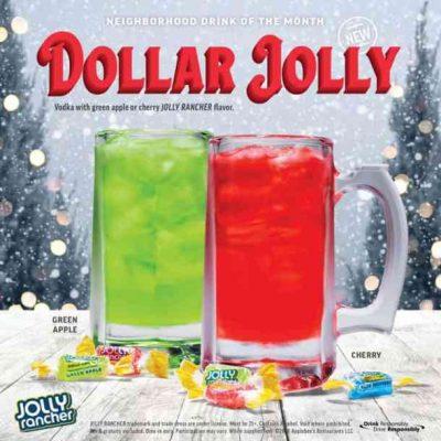 Applebee's serves $1 Dollar Jolly in December