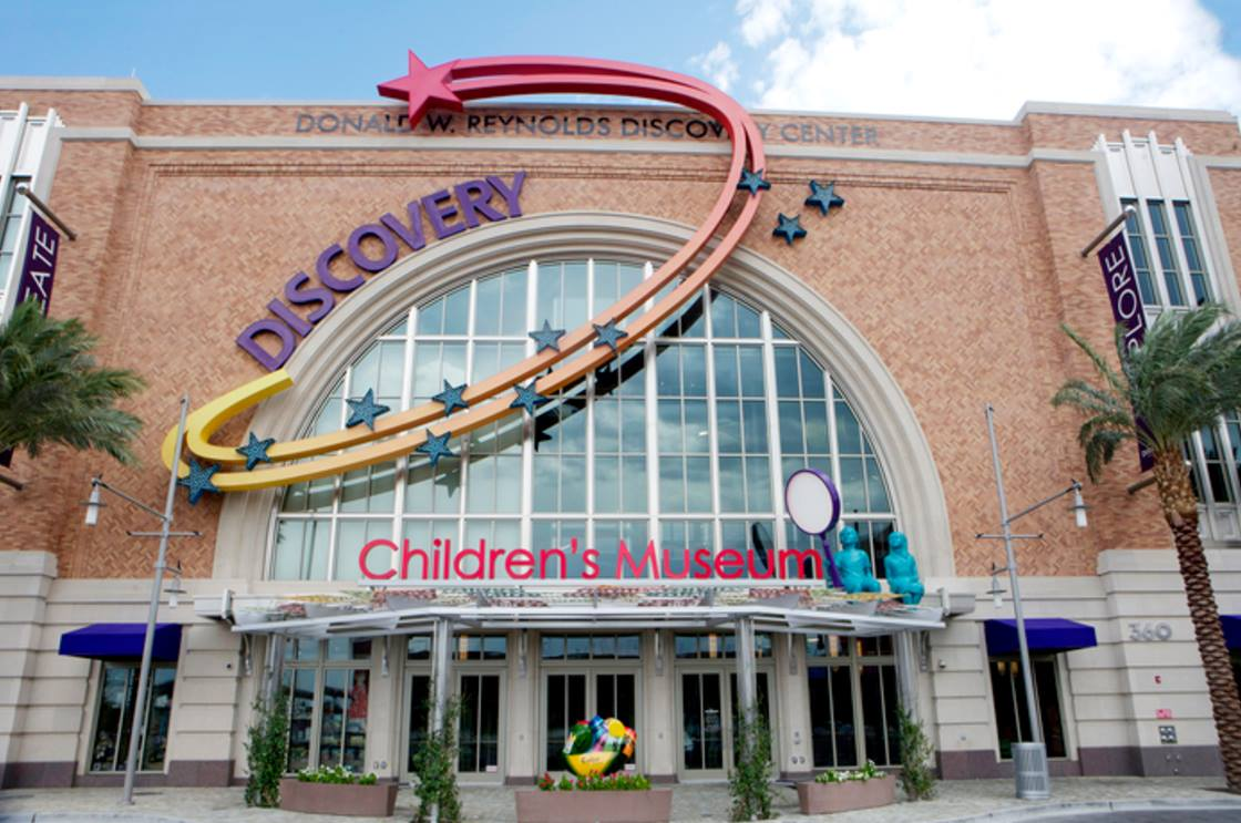 Discovery Children's Museum winter fun for kids
