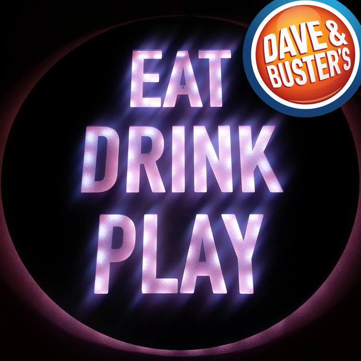 deals and freebies for healthcare workers at Dave and Busters