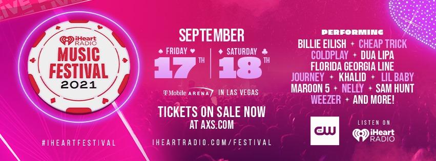 iHeart Radio Music Festival lineup for 2021