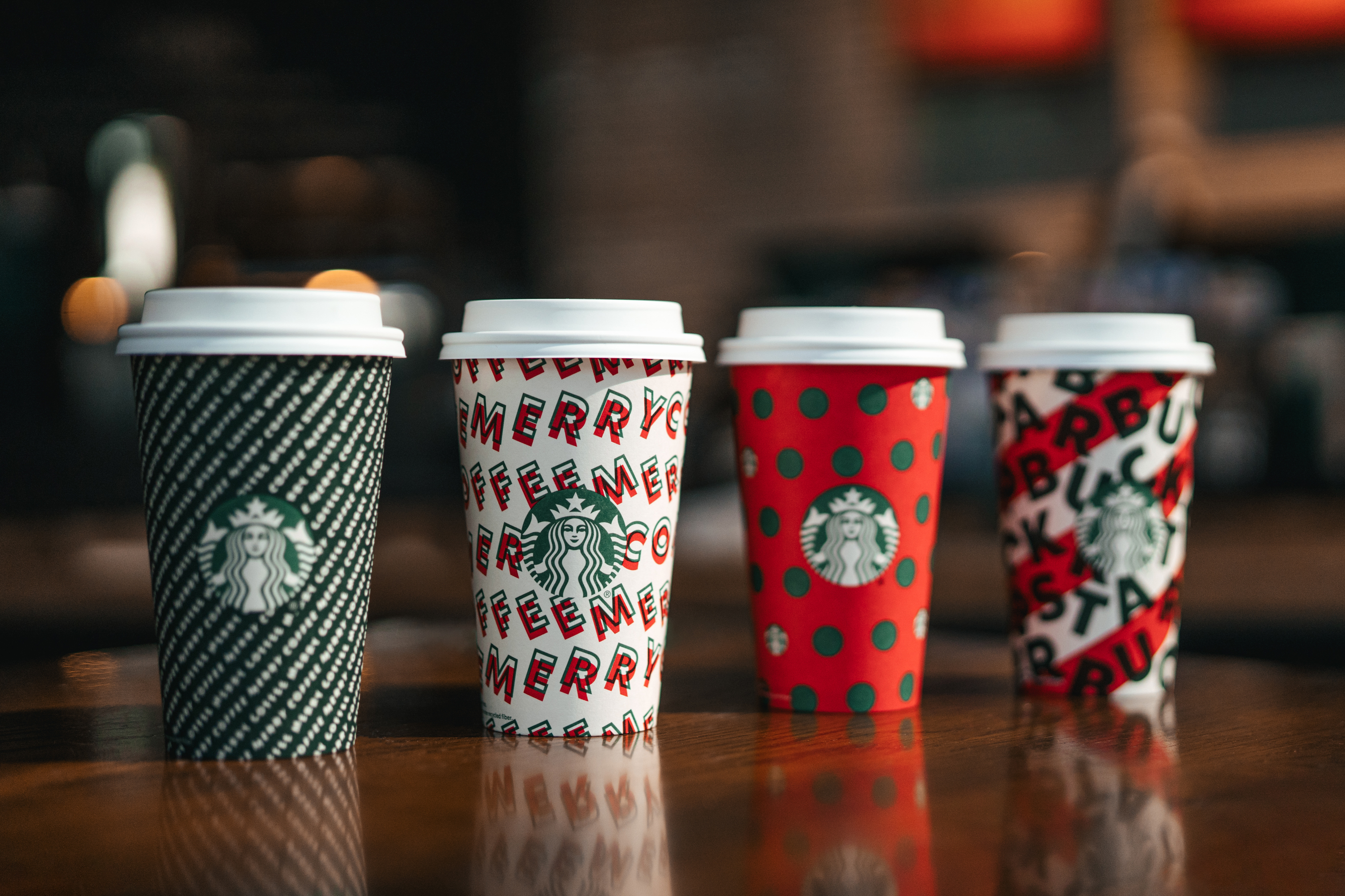 Starbucks reusable holiday cups are back