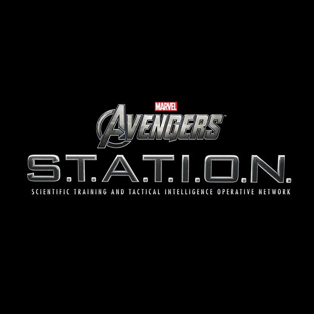Marvel Avengers Station logo in Las Vegas, discount local tickets