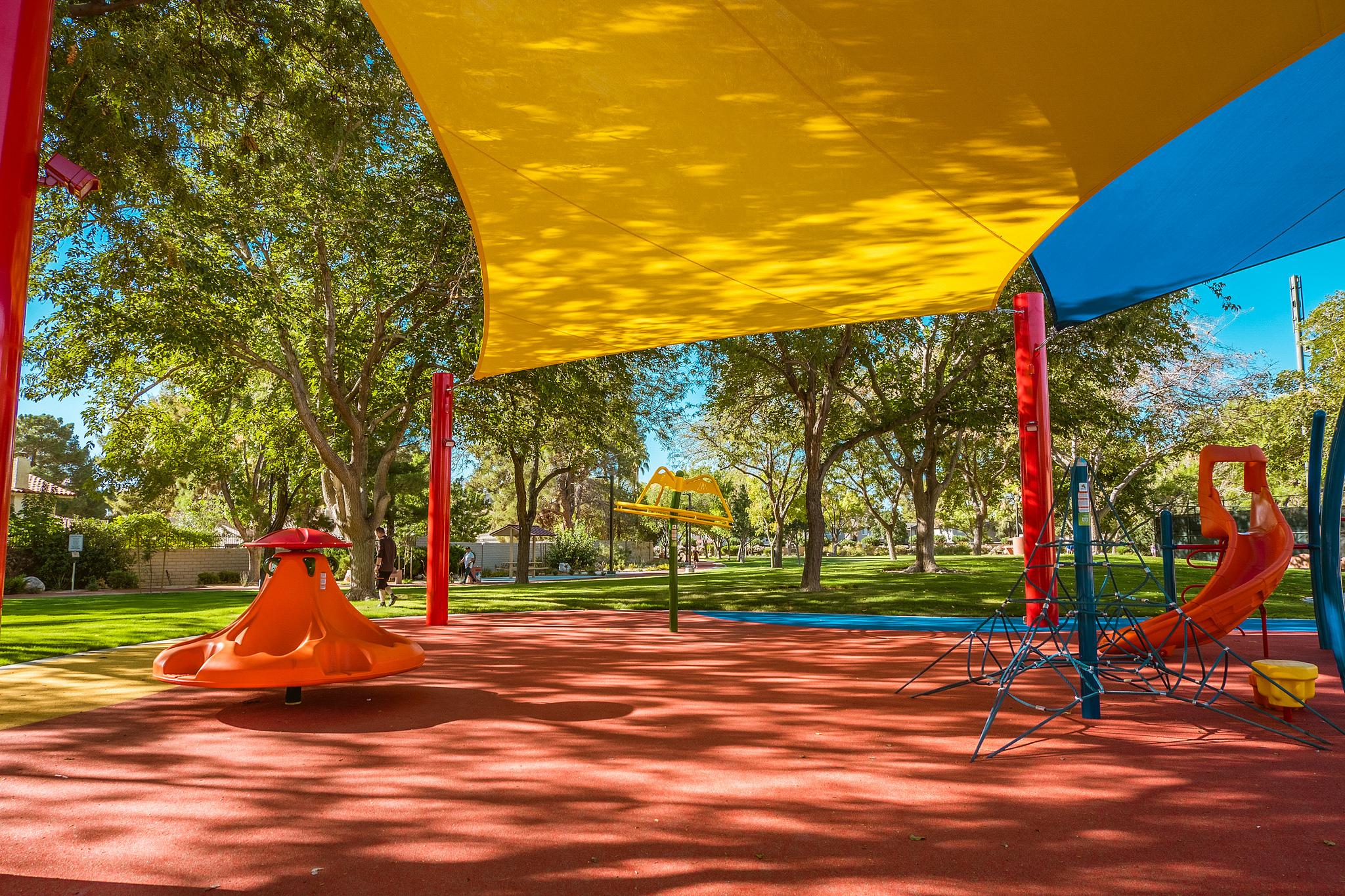 City of las vegas park playground updates and closures