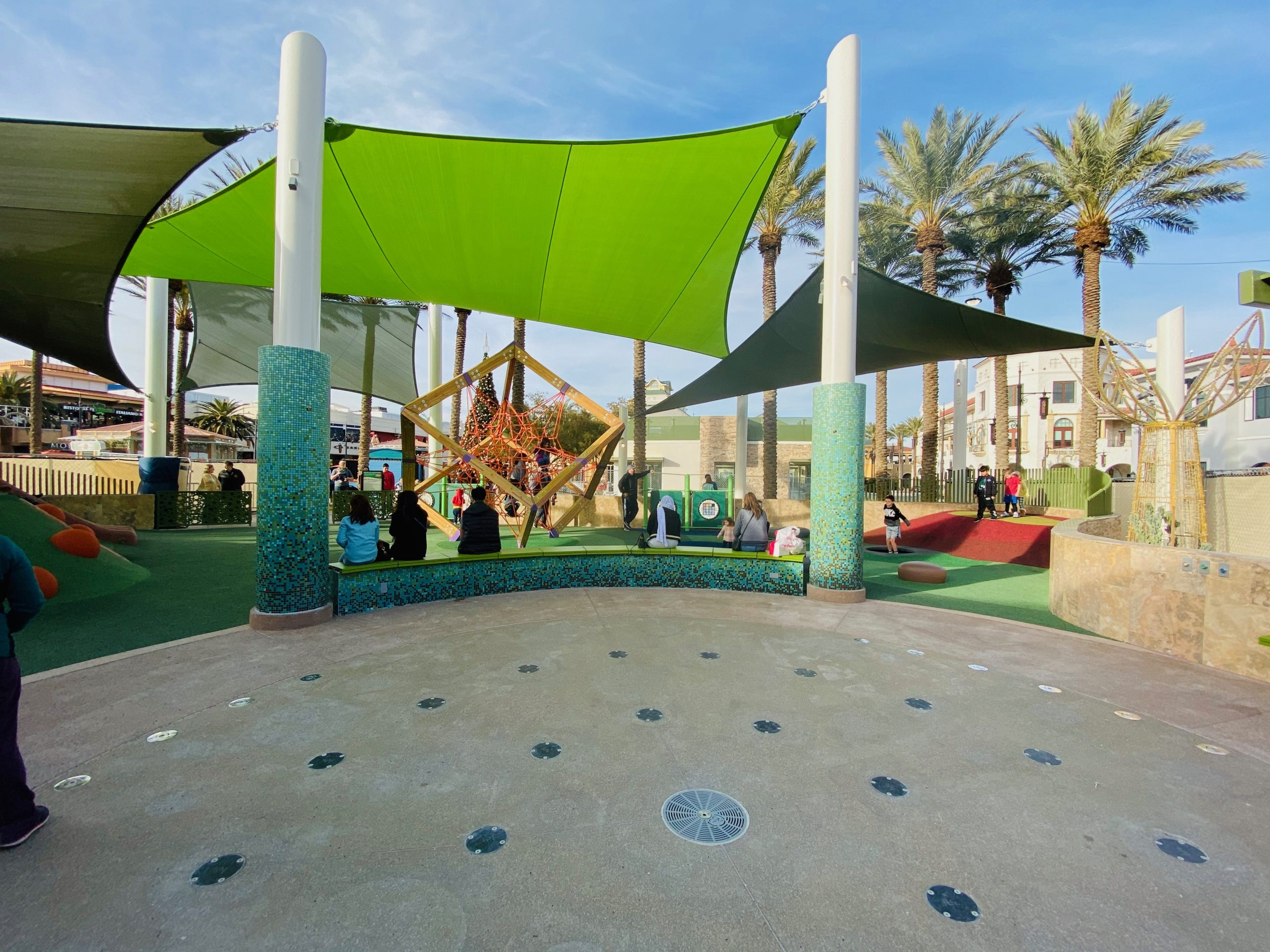 New Children's Park at Town Square, best free and cheap kids
