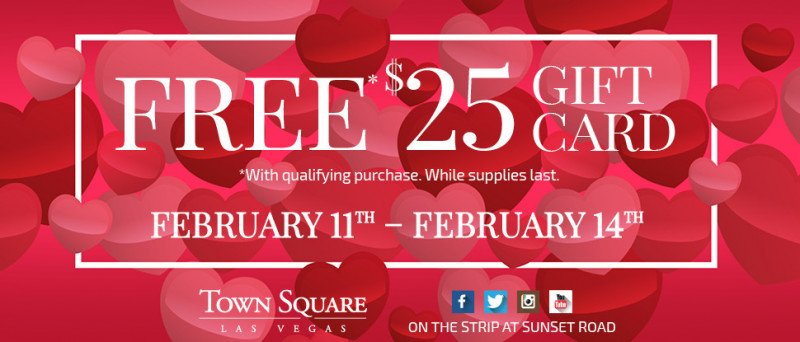 free gift card town square offer valentine's week
