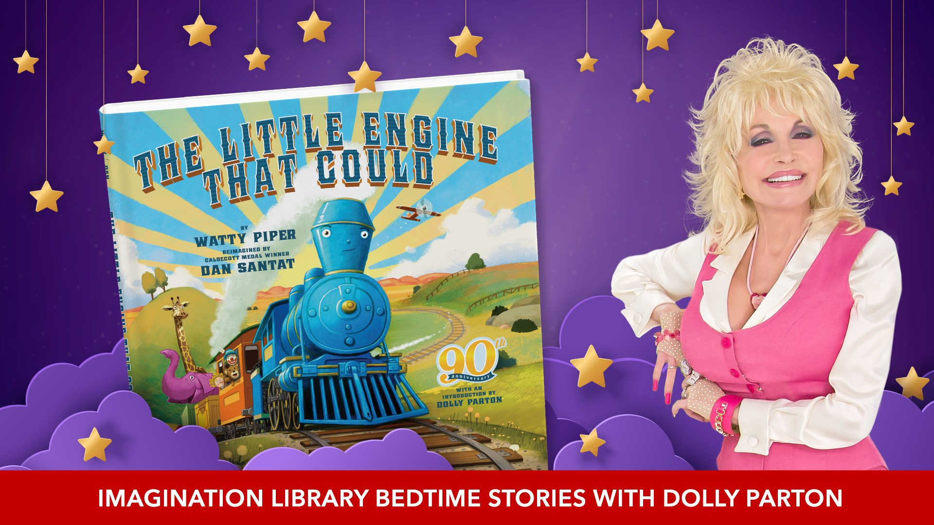 Goodnight with Dolly Parton bedtime story time online each Thursday