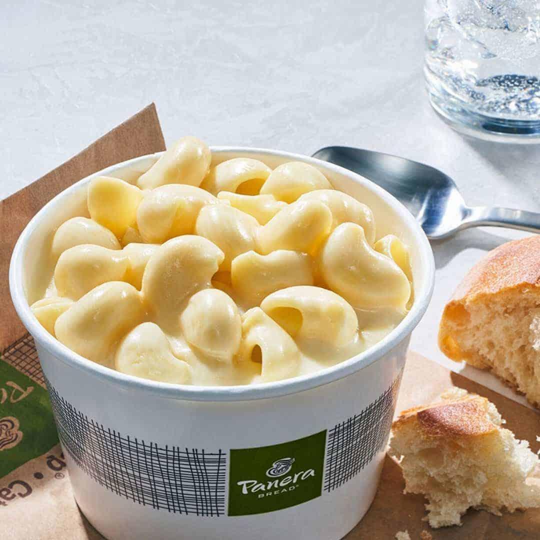 discount at panera bread save $5 this summer, mac n cheese