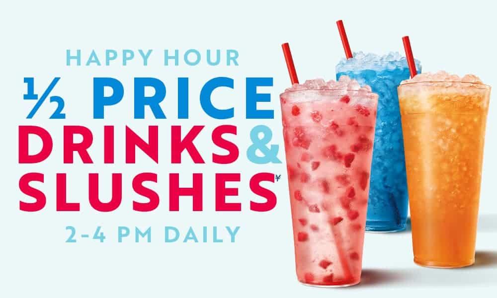 sonic half-price drinks happy hour