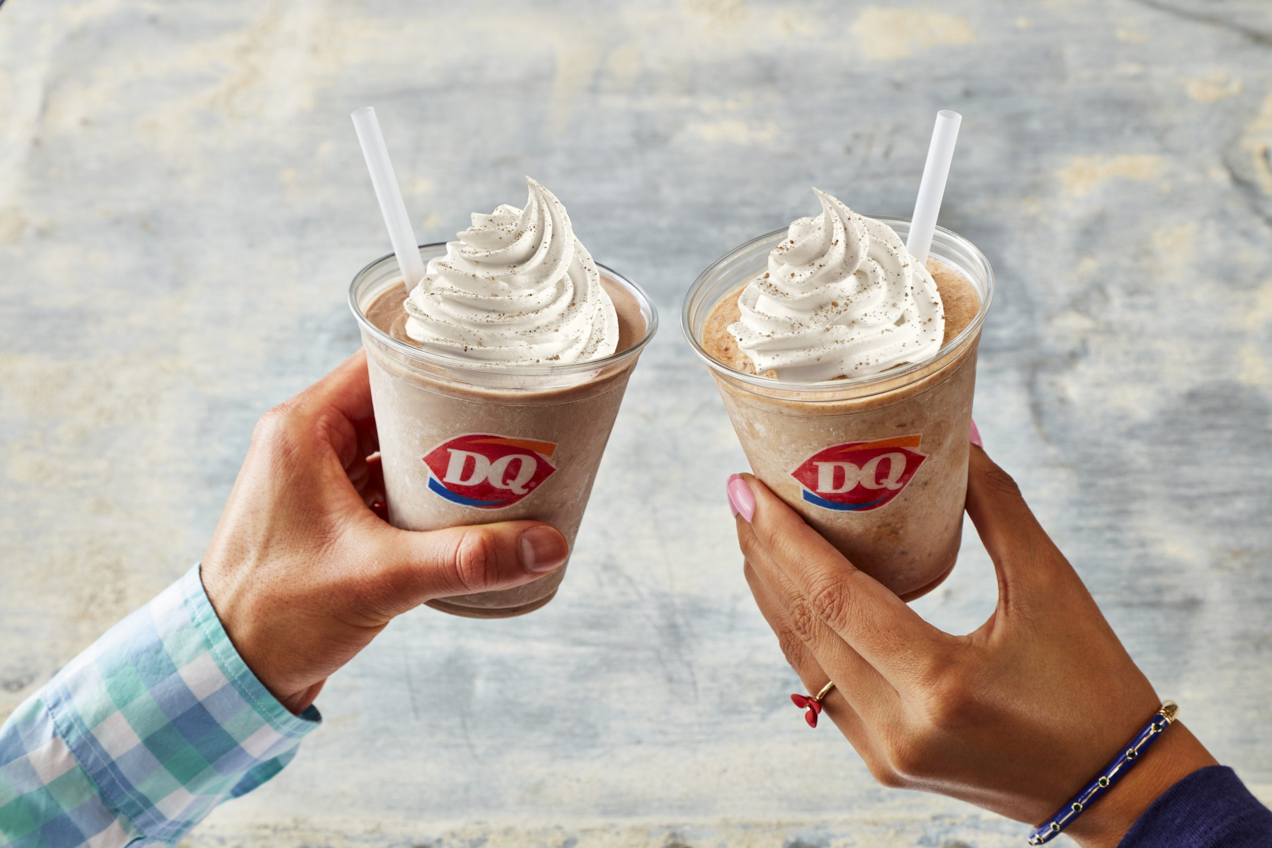 Dairy queen DQ Shakes cookie butter