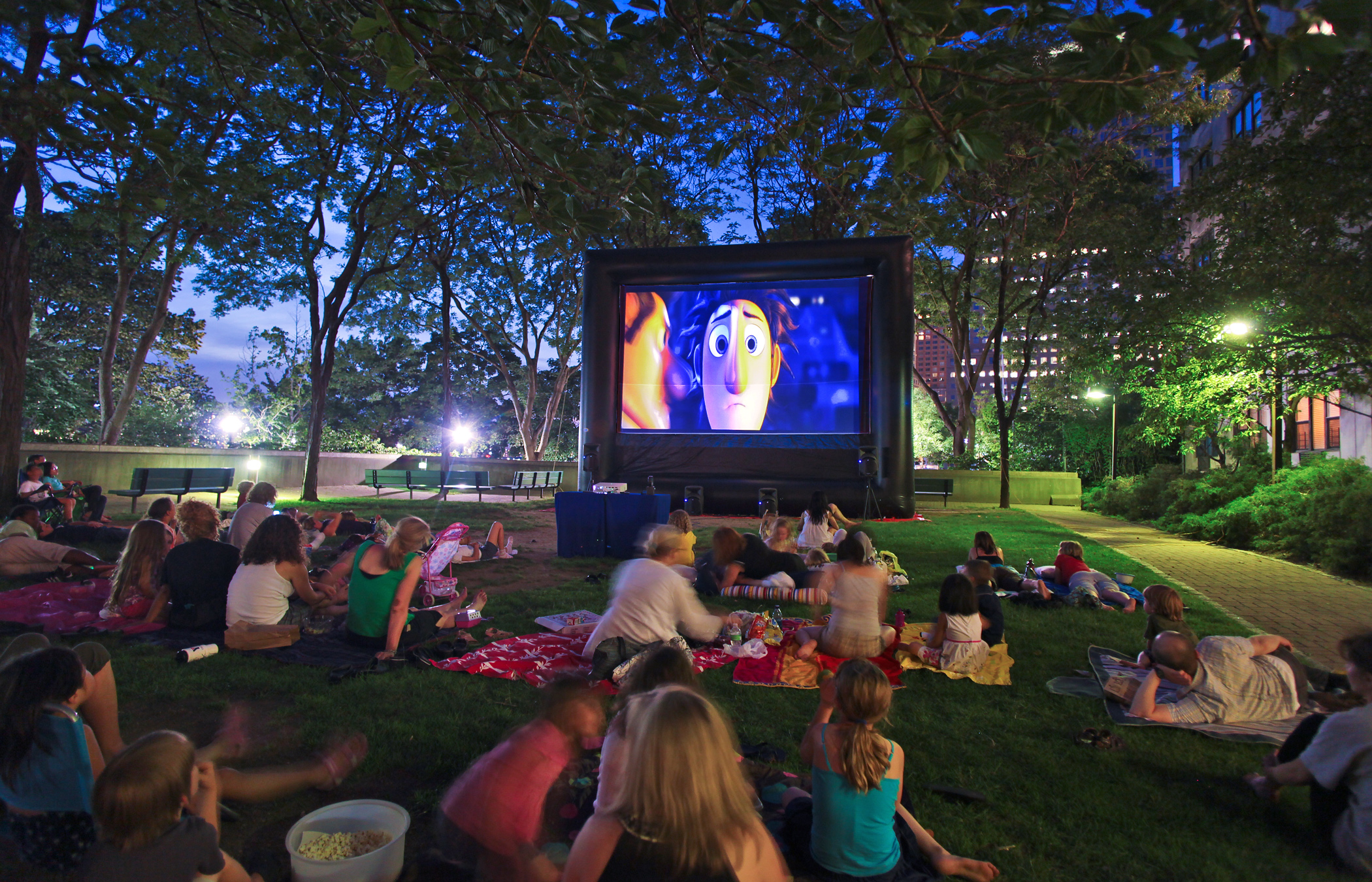 movies in the park city of las vegas