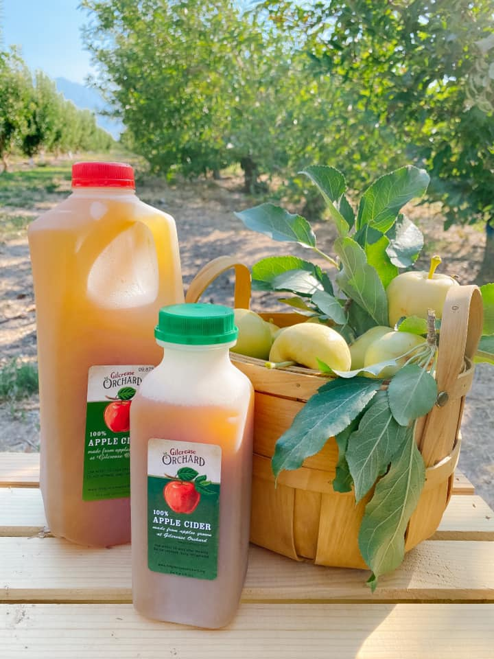Gilcrease Orchard apple cider