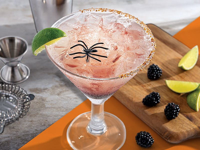 Chili's spider bite margarita of the month for october