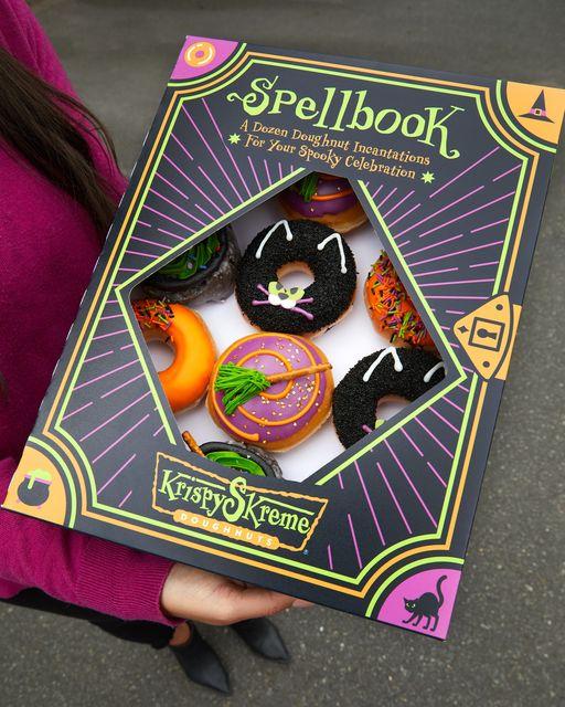October deals and discounts halloween Krispy Kreme doughnuts