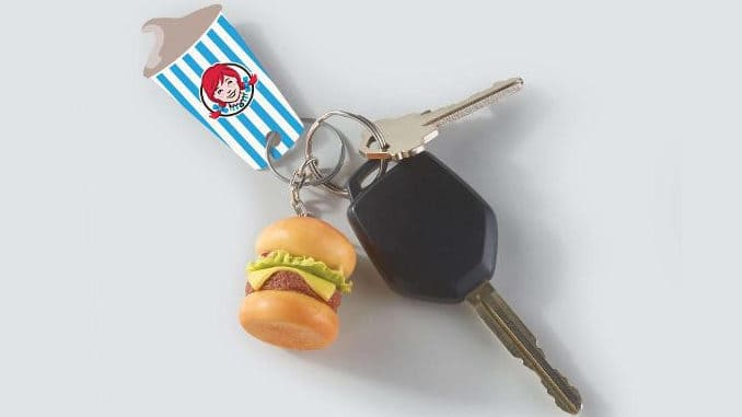 Wendy's frosty key tag for free Jr. Frosty all year