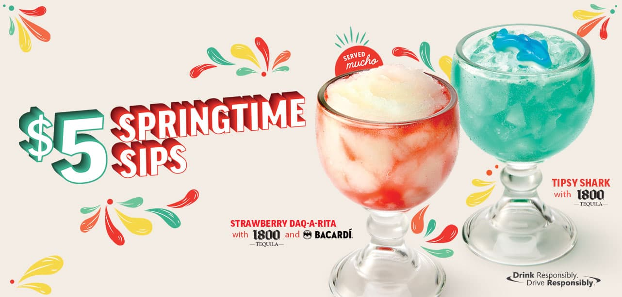 Applebee's national hiring day and springtime sips