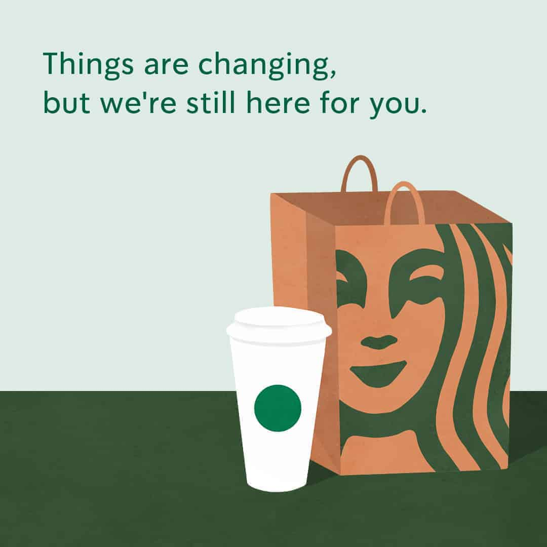 free coffee for first line responders from starbucks