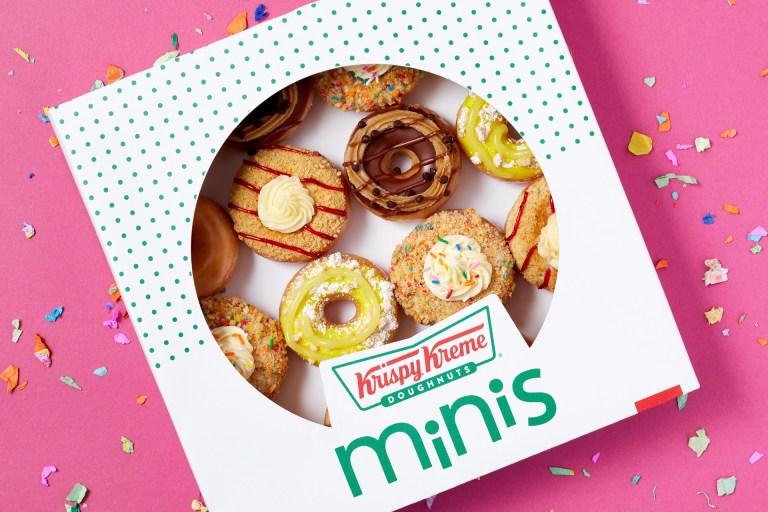 Krispy Kreme mini doughnuts for lifes little wins