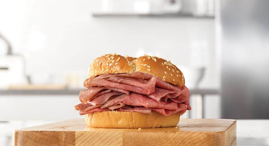 arby's classic roast beef sandwich just $2