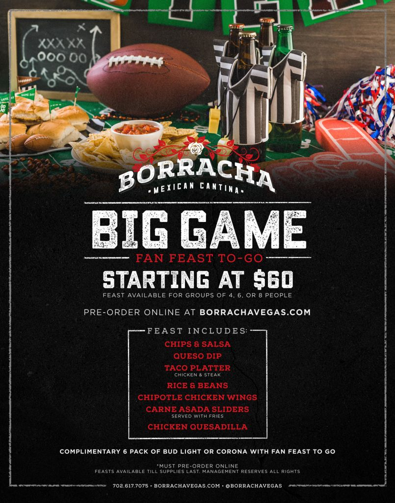 watch the big game at station casinos borracha