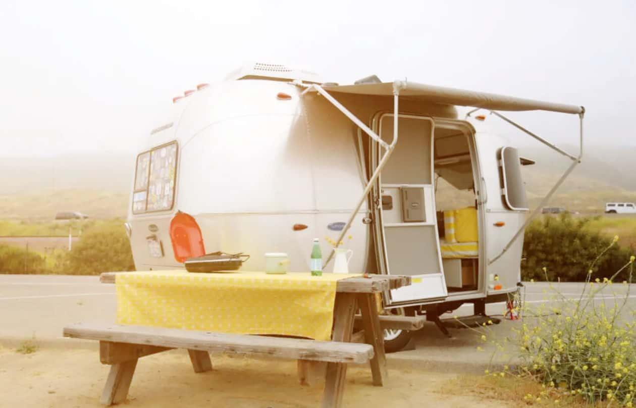 RVshare travel camper rental