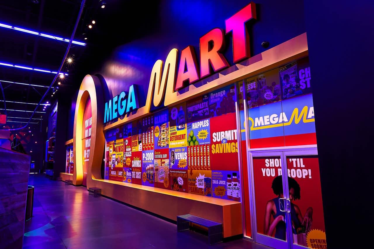 Omega Mart experience at AREA15
