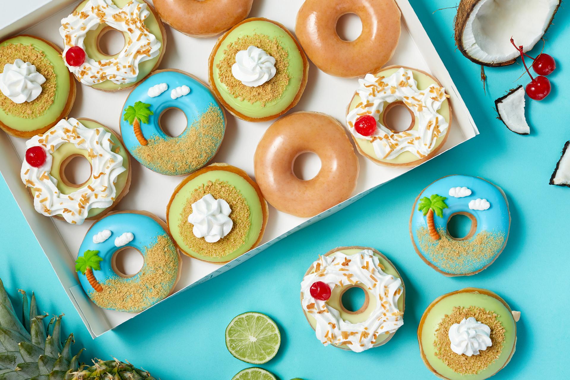 Krispy Kreme's Island Time Collection