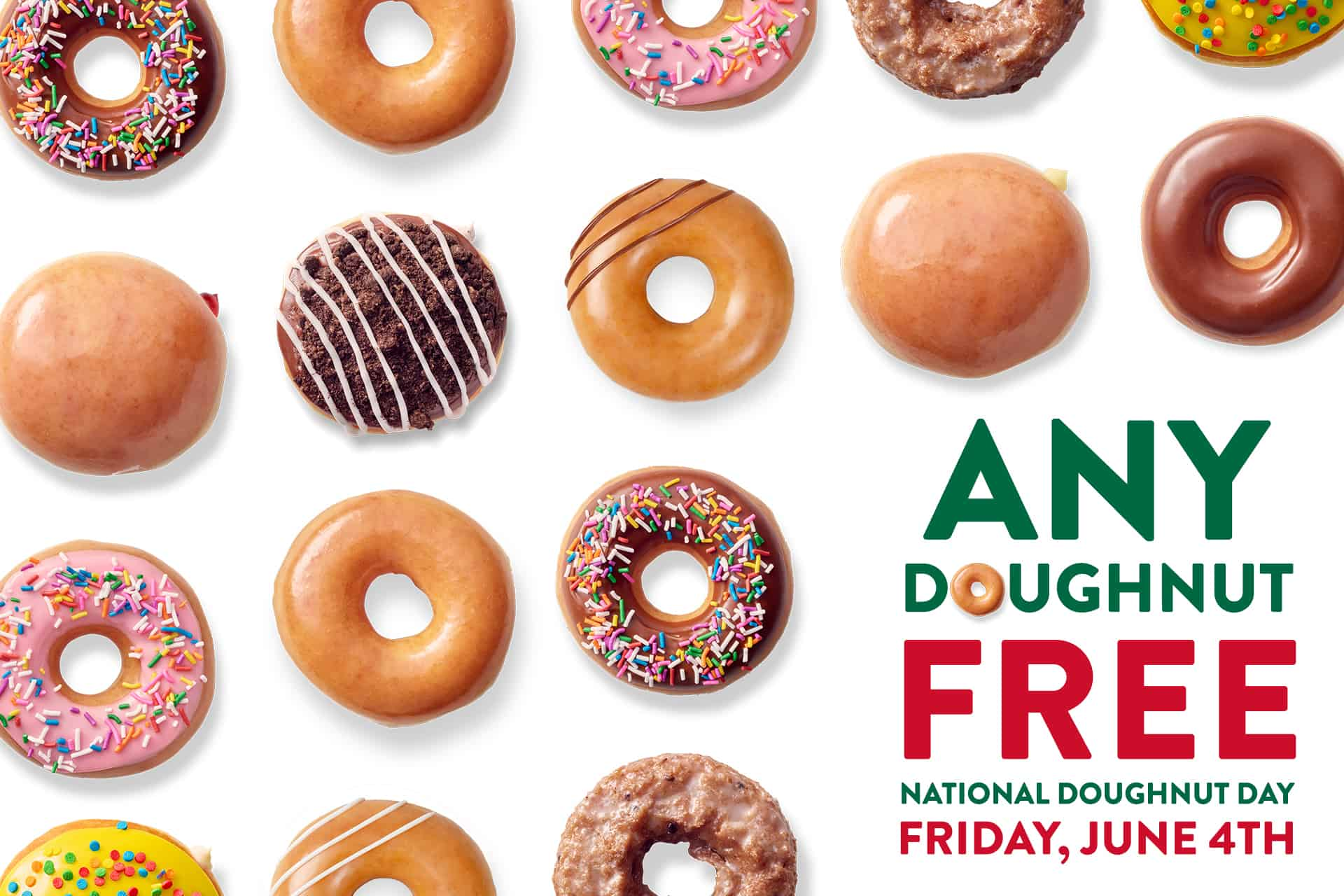 krispy kreme national donut day free donuts
