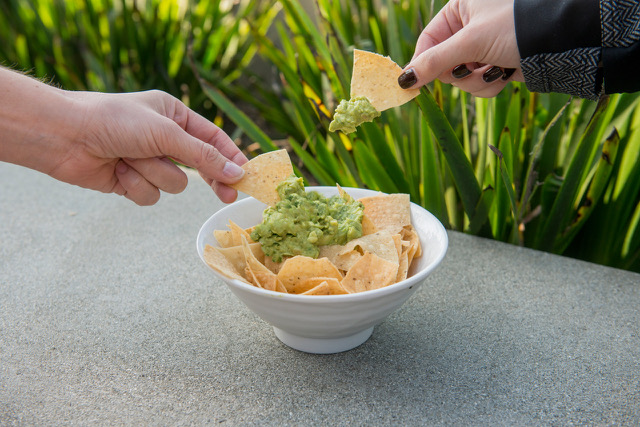 free chips and guac at Rubio's for National Guacamole Day