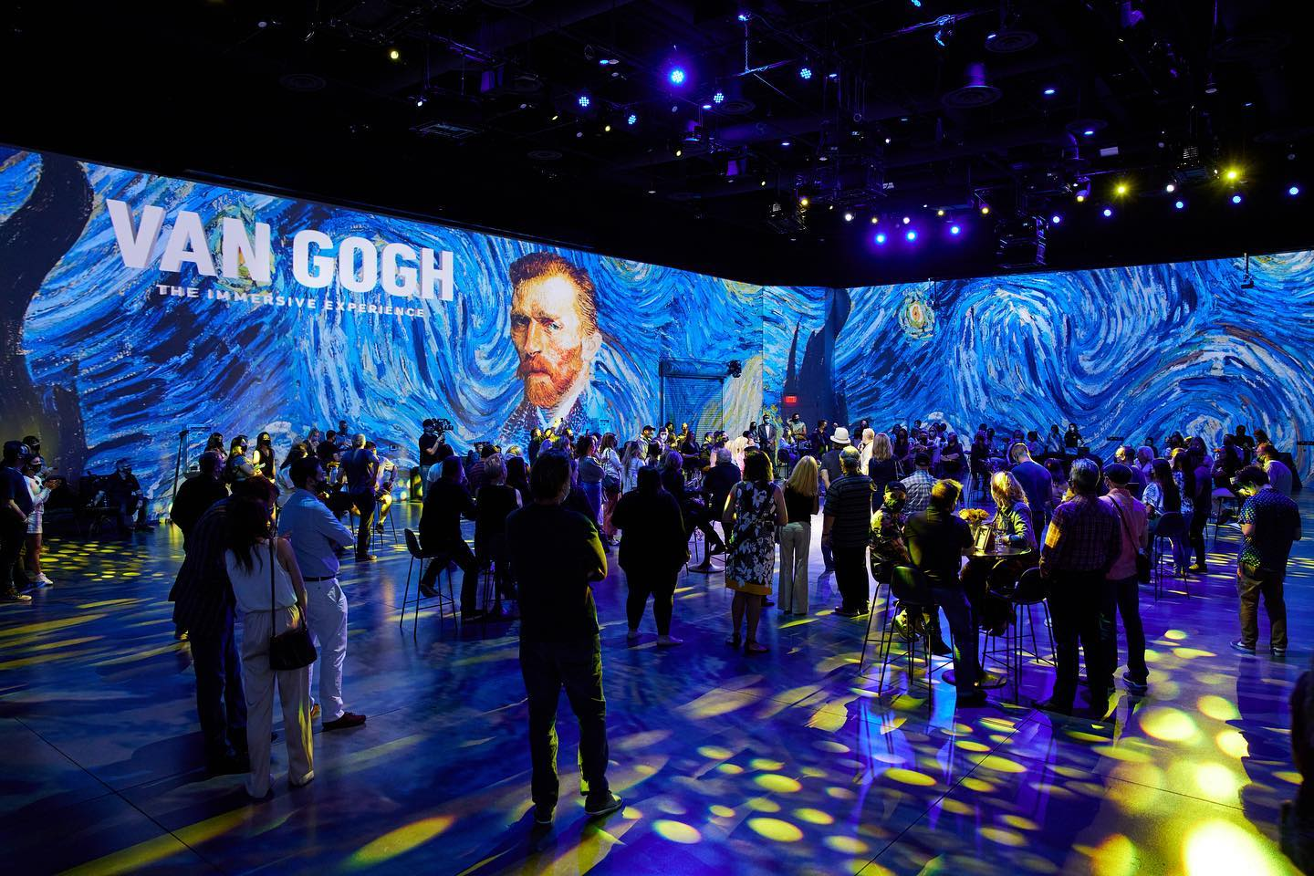 Van Gogh the immersive experience at Area 15