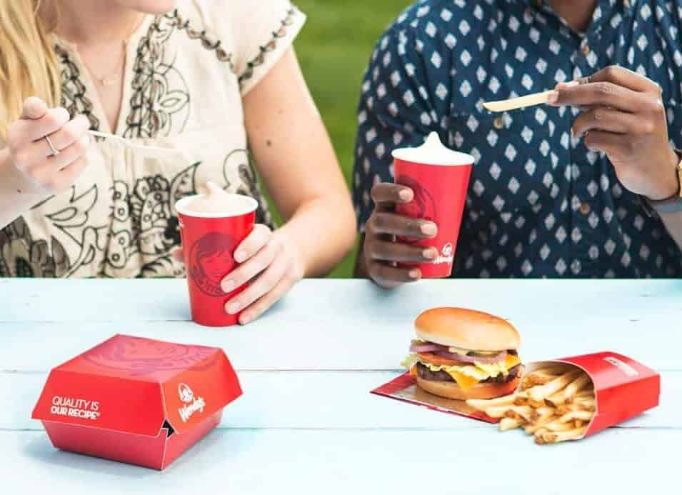free frosty at Wendy's in October
