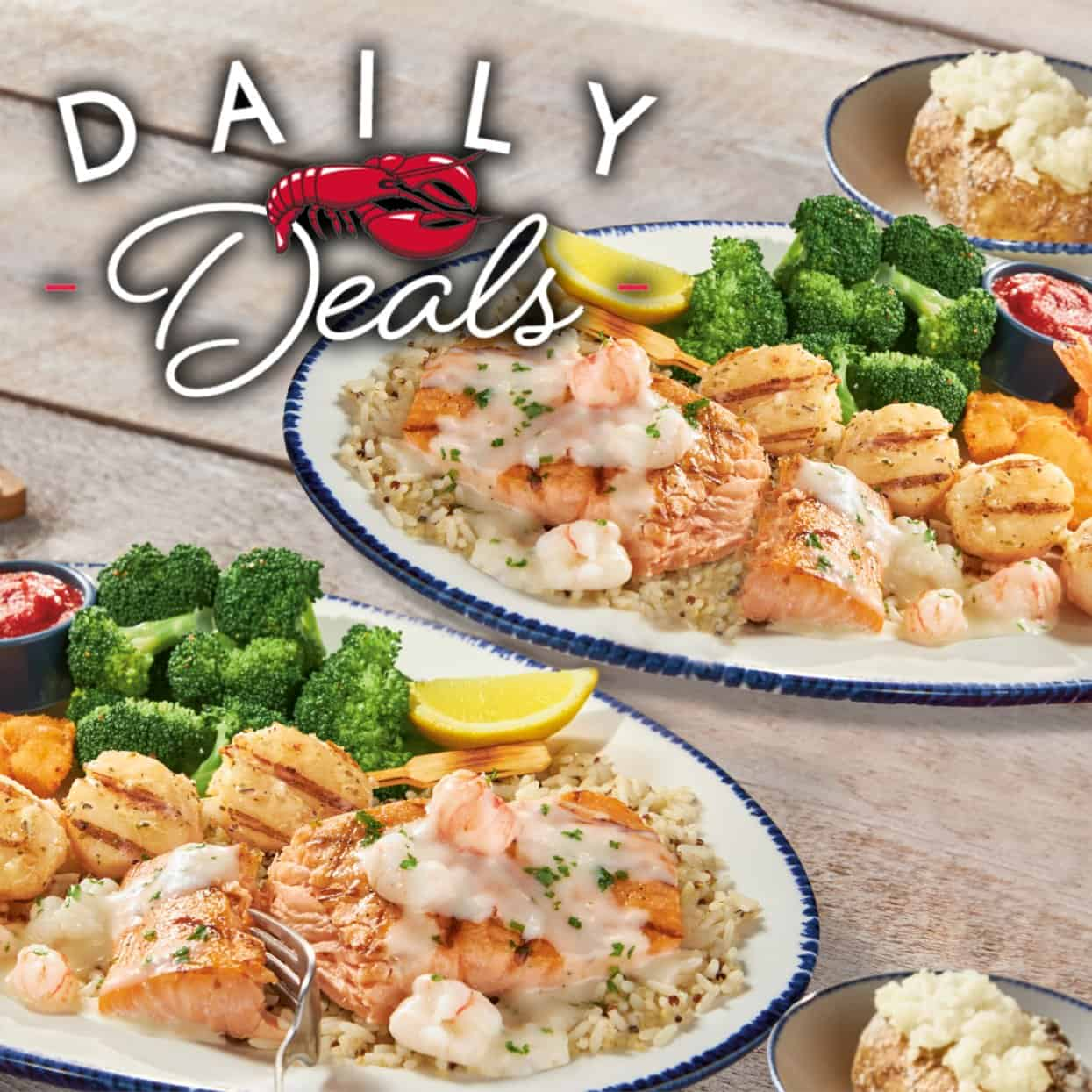 Kids eat free at Red Lobster deal one day only