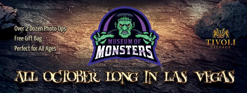 Museum of Monsters new halloween attraction in Las Vegas